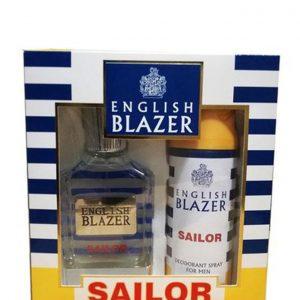 English Blazer – SAILOR (EDT 100ML + DEO SPRAY 150ML)