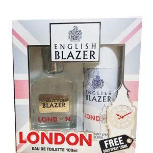 English Blazer – LONDON (EDT 100ML + DEO SPRAY 150ML)