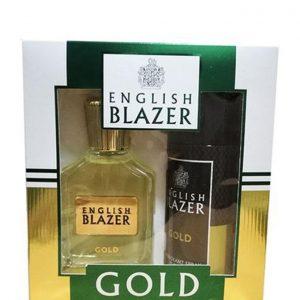 English Blazer – GOLD (EDT 100ML + DEO SPRAY 150ML)