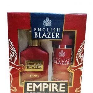 English Blazer – EMPIRE (EDT 100ML + DEO SPRAY 150ML)