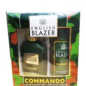 English Blazer – COMMANDO (EDT 100ML + DEO SPRAY 150ML)
