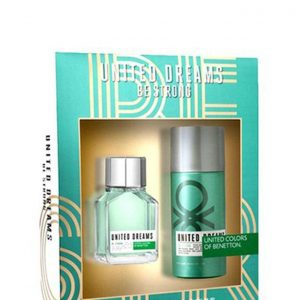 BE STRONG MENS (EDT 100ML + DEO SPRAY 150ML)